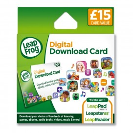 LeapFrog  App Centre Download Card (UK Version)