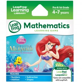 LeapPad The Little Mermaid Ariel's Princess Adventures Game