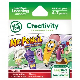 LeapFrog Mr Pencil Saves Doodleberg Game