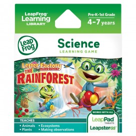 LeapPad Letter Factory Adventures Game