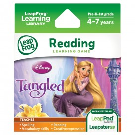 LeapPad Disney Tangled, the Disney story of Rapunzel Game