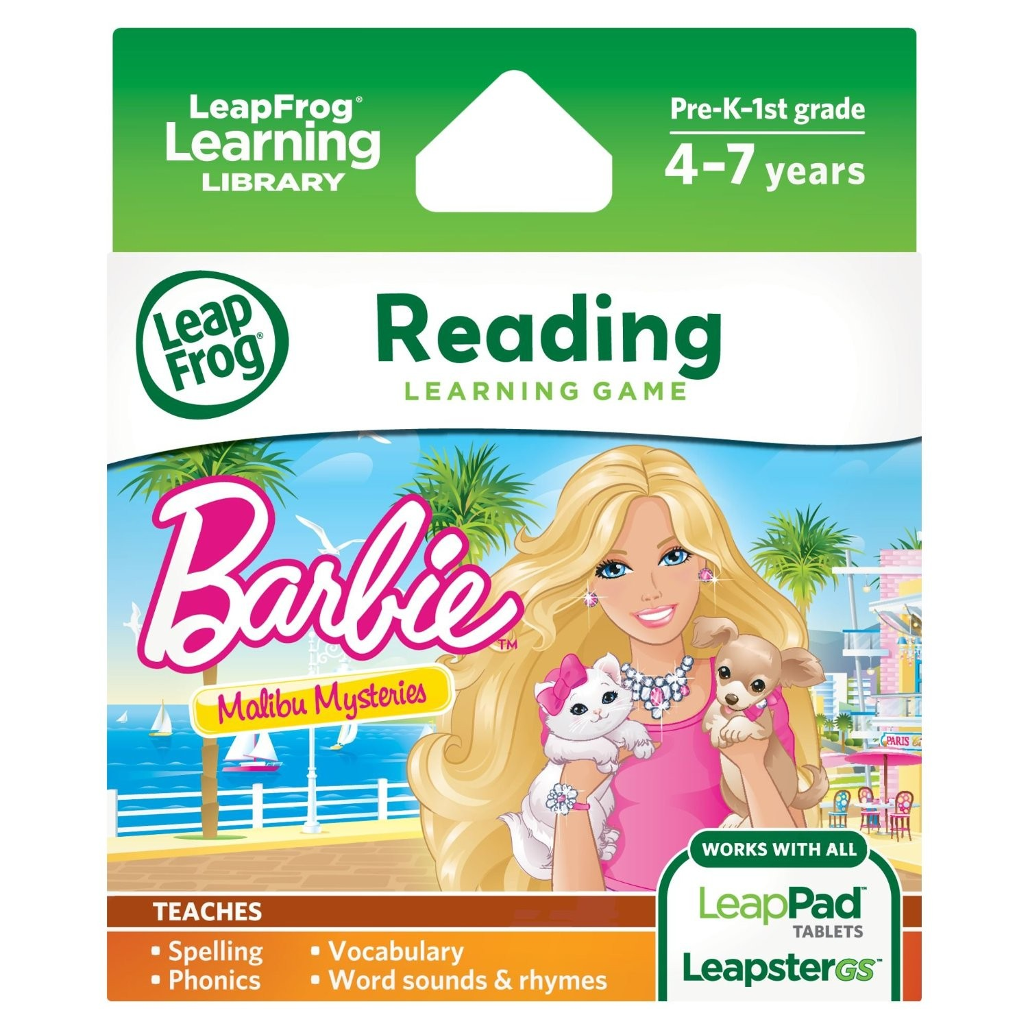 LeapPad Barbie Learning Game