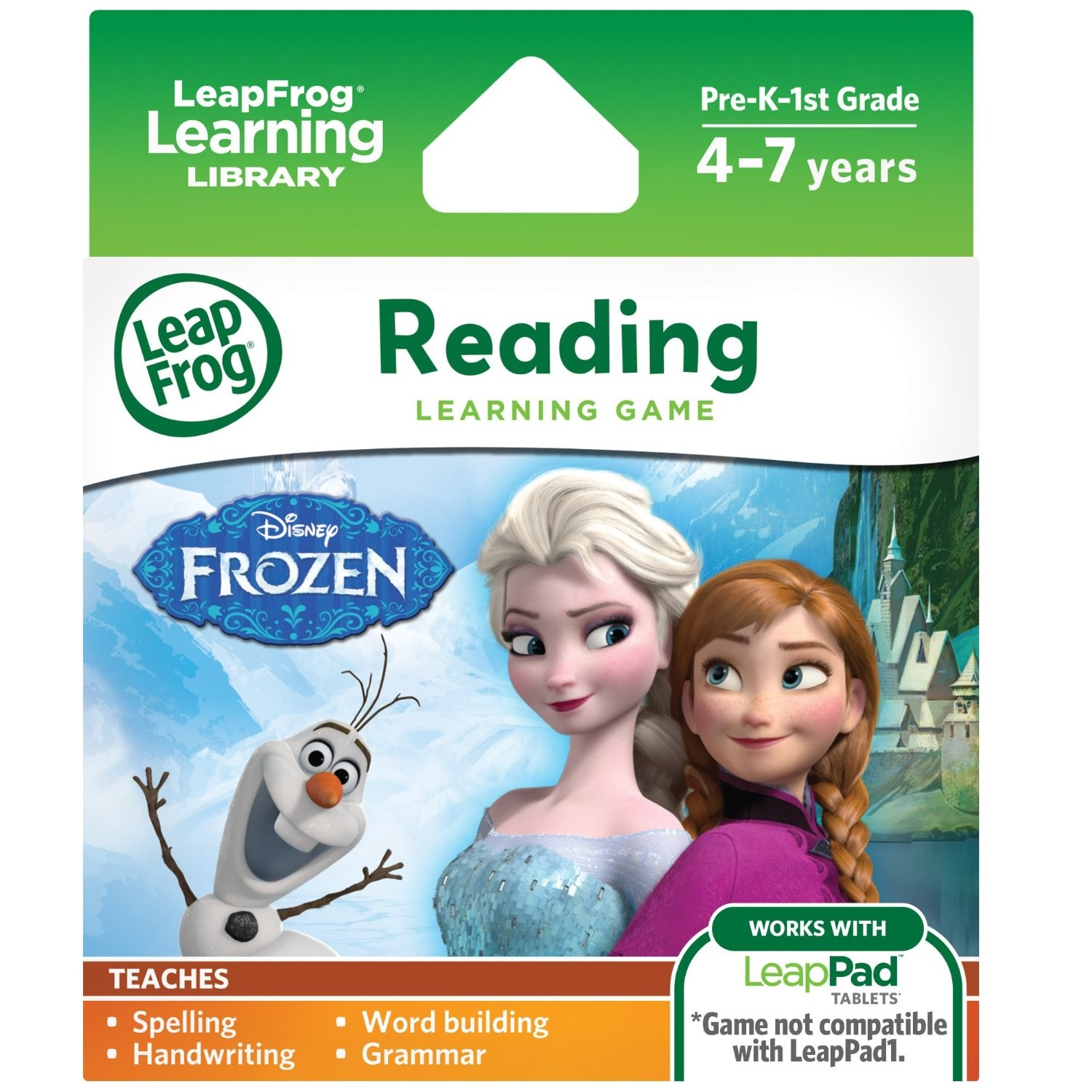 LeapPad Learning Game Frozen