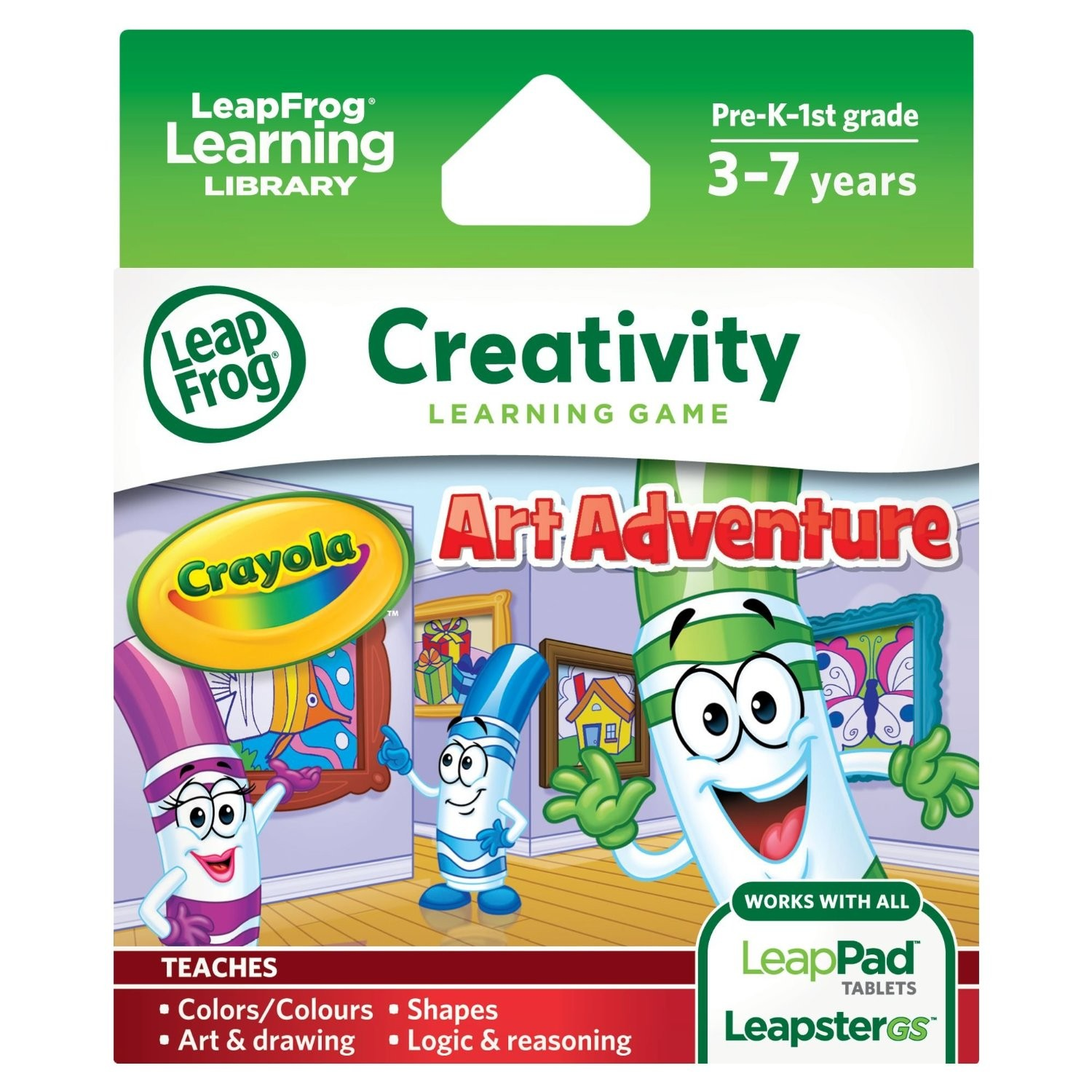 LeapFrog Crayola Art Adventure Game
